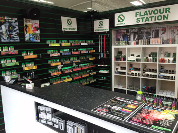 Electronic cigarette shop UK